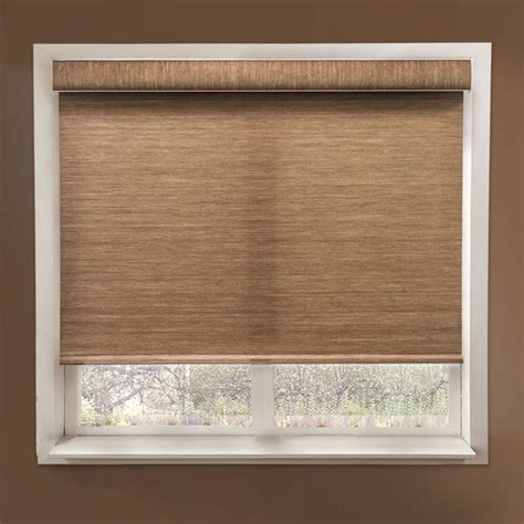 Fabric Shades by Chicology Woven Fabric Privacy Deluxe Free Stop