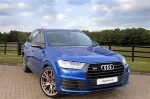 Warrington Audi Used Audi Q7 Sq7 Tdi Quattro For Sale What Car Ref