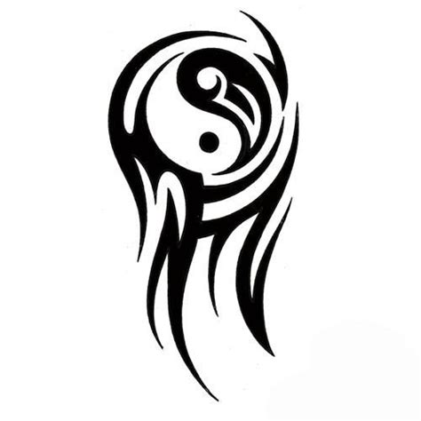 yin and yang tribal tattoos image result for http tattoowoo images ying