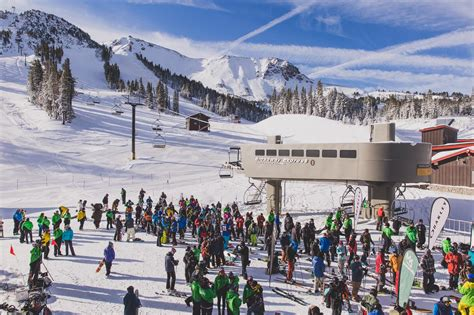 Mammoth Cornice Photos And Mammoth Opens To Powder Conditions