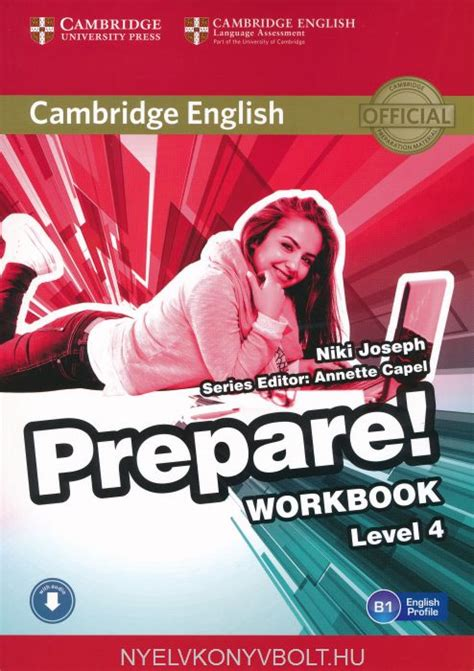 cambridge english prepare level cambridge english prepare workbook level 4 with downloadable audio nyelvk 246 nyv forgalmaz 225 s