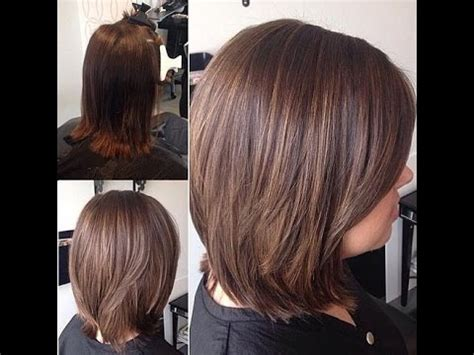 blunt bob haircuts youtube beautiful and convenient medium bob hairstyles youtube