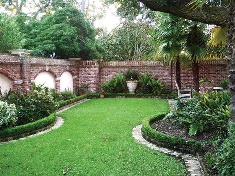 brick wall garden designs decorating ideas design trends