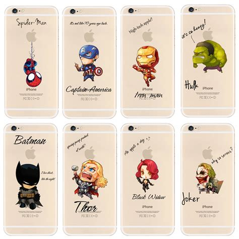 Ibuy All Marvel For Iphone 6 6s Marvel Murah new arrival for iphone 6s 6 cool marvel s the pattern cover for apple iphone 6 6s