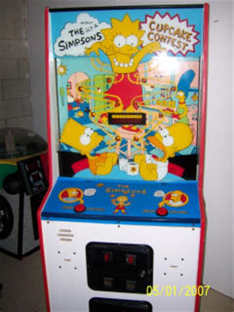 The Simpsons Contest by Discontinued Redemption Arcade Reference Page S S
