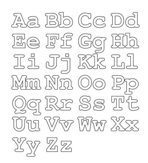 moldes de letras mayusculas y minusculas para imprimir y recortar abecedario para colorear letras may 250 sculas y min 250 sculas