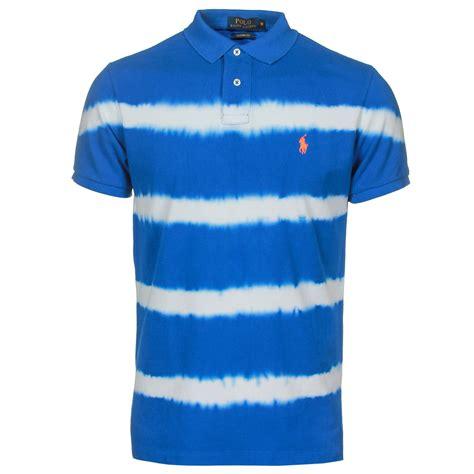 polo ralph polo shirts tie dyed stripe polo