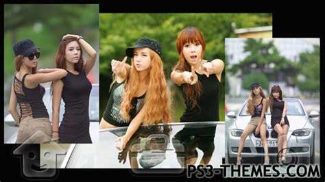 mi ps3 themes ps3 themes 187 j idol series kim in ae lee mi hyeon