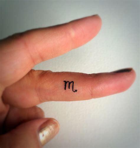 tiny finger tattoos scorpio temporary tiny tattoos finger