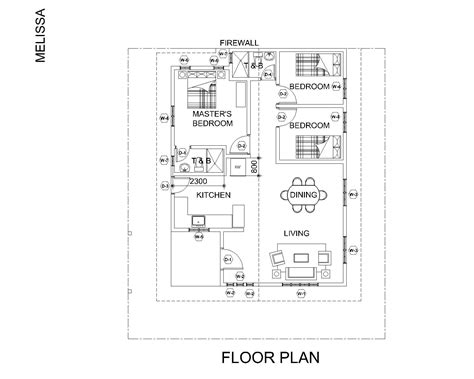 What Is A Floor Plan Loan Melissa Model House And Lot In Pampanga Mapiles Realty