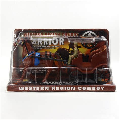 Toys Planning Painted Figures p2521 moldel painted figures and carriage western region cowboy toys new ebay