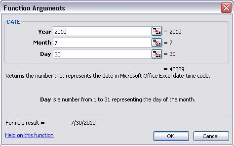 date formula excel – how to use excel date function