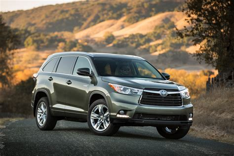 toyota corporate 20 most fuel efficient suvs of 2015 187 autonxt