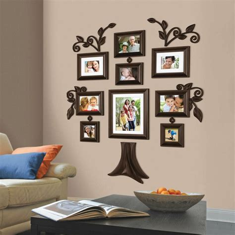 family tree collage photo picture frame set wall art