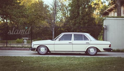 lowered mercedes w123 image gallery lowered w123