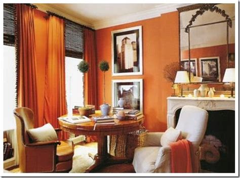 Orange Color In Living Room Feng Shui Reiko Design Feng Shui Color Orange