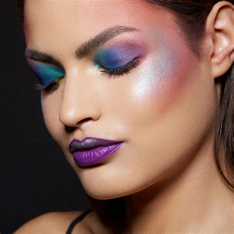 Da Make Up by Unicorn Makeup Tutorial Rainbow Highlighter Maybelline