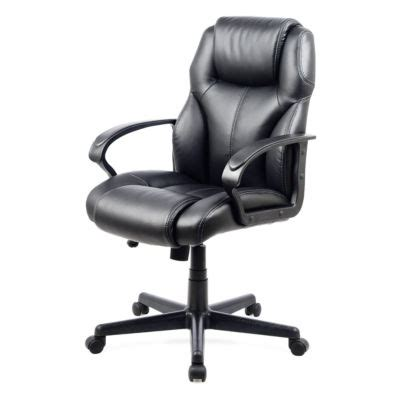 workspace faux leather managerial office chair jcpenney