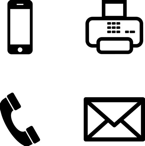 Search By Email Free Telephone And Email Icon Clipart Best