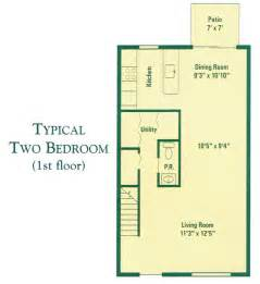 Floor Plan Townhouse by Three Story Townhouse Floor Plans Town House Floor Plans