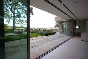 modern patio doors flush floor finish archives minimal windows sliding