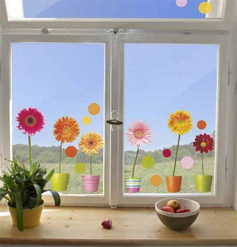 Sichtschutzfolie Fenster Weihnachten by Fenstersticker Fensterfolie Gerbera Bunte Punkte 2 Bl