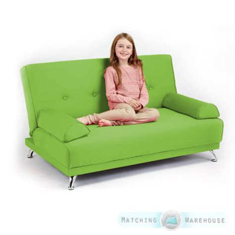 Toddler Futon by Childrens Cotton Twill Clic Clac Sofa Bed With Armrests