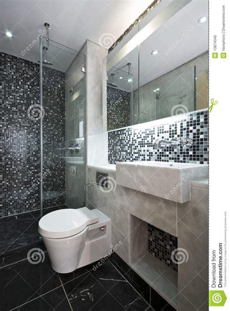 cer di lusso interni banheiro luxuoso em preto e branco foto de stock imagem