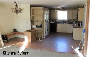 before after a fabulous floor remodel hooked on