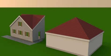 sweet home 3d 3d models 330 roof library modular