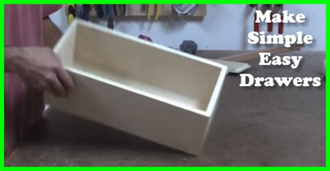 How To Make A Simple Drawer by How To Make Simple Easy Drawers Gotta Go Do It Yourself
