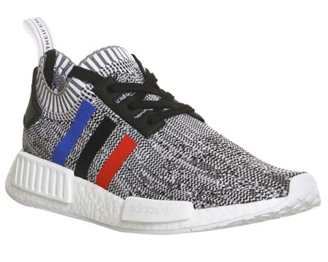 Adidas Nmd R1 Knit Vapour Grey White Premium Quality adidas nmd r1 prime knit white black