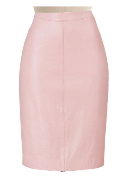 pink satin skirt custom made skirt custom fit