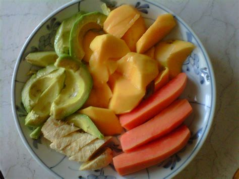 Pisau Makan Tableknife Buah Cemara lita zuchra s makan buah potong di pagi hari utk sarapan