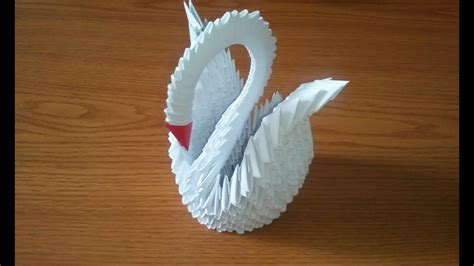 how to make 3d origami swan model6 origami how to make 3d origami swan updated