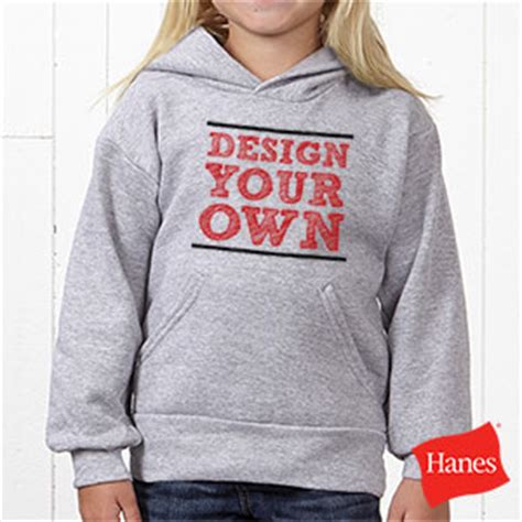 design your own youth hoodie design your own custom kids hooded sweatshirts