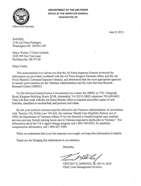 Response To Virginia S Letter Orange C 123k Aircrew Maintainers Va Now Honors Our Orange Claims June 2011