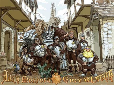 Guards Guards Discworld The City Collection ankh morpork city godwiki