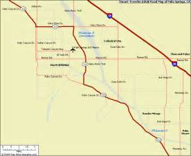 maps palm springs california january 2012 free printable maps