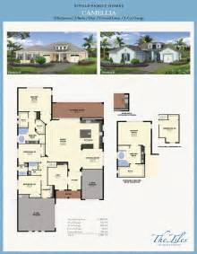 Florida Home Floor Plans by The Isles Of Collier Preserve Camellia Model Florida