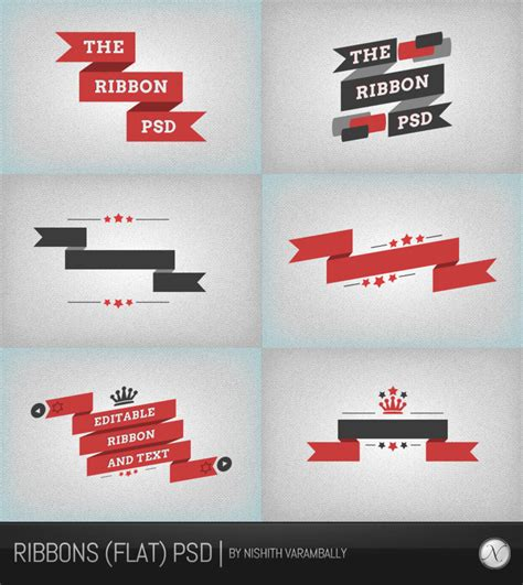 ribbon vector tutorial photoshop 15 psd web ribbons for free download 365 web resources