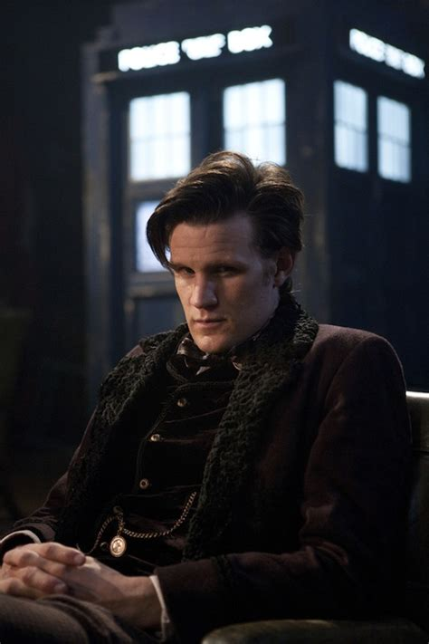 doctor who matt smith s new costume in still