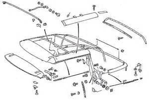 Mercedes R129 Parts Cabriospannseile De By Ing Manufactur Soft Top
