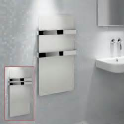 Heated Toilet Bidet Kudox Quot Ikon Quot Designer White Heated Towel Rail Radiator