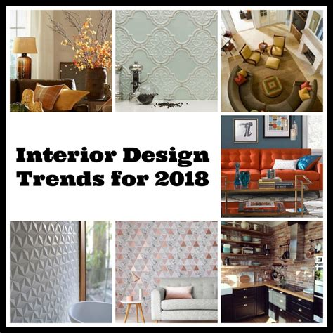 interior design trends for 2018 tradesmen ie