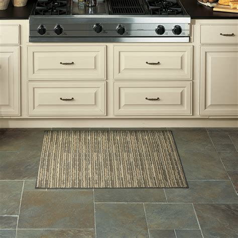 mohawk home ambient stripe kitchen rug walmartcom