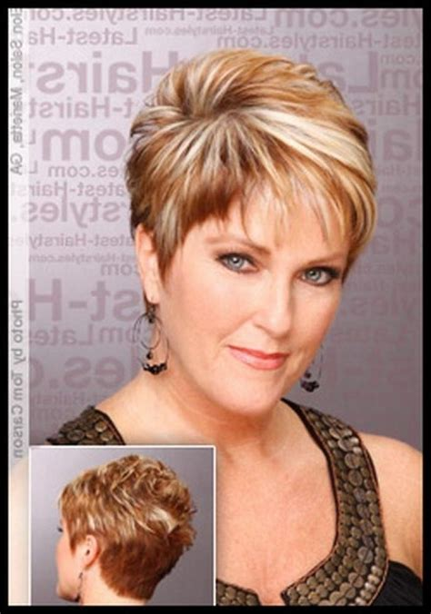 short hairstyles for women over 50 for brown hair and highlights 2018 latest short hairstyles for 50 year old woman