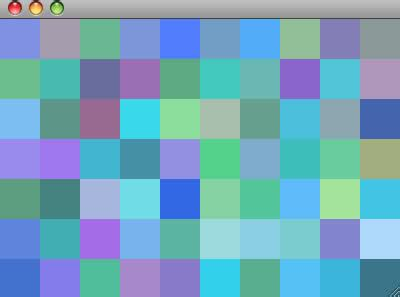complementary color generator algorithm to randomly generate an aesthetically pleasing