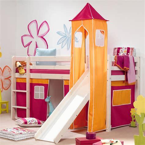 bett yellow möbel hochbett mit rutsche einrichtungsideen f 252 r kinderzimmer