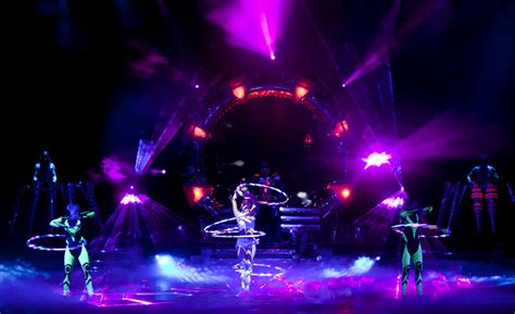 led light show laser light stage show streets united